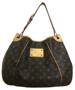 ab4a069cf4e Louis Vuitton Discontinued Galleria Pm In Pre-loved Condition Date Code  Sd3069 Monogram Canvas Leather Hobo Bag