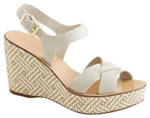 J.Crew Summer Neutral Wedges