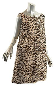 Steven Stolman short dress Brown & Black Animal Print on Tradesy