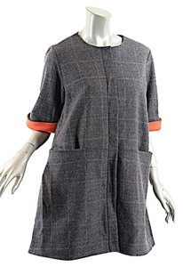 Lisa Perry short dress Grey Windowpane on Tradesy