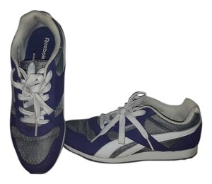 Reebok Classic Purple, white, and gray Athletic