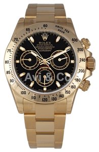 Rolex Rolex Cosmograph Daytona 18K Yellow Gold Watch Black Dial 116528