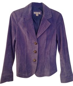 Coldwater Creek Blue Purple Periwinkle (Purple/Blue) Blazer