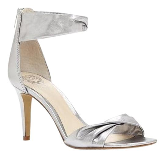 Preload https://item1.tradesy.com/images/vince-camuto-silver-camden-twisted-straps-high-heel-sandals-size-us-8-regular-m-b-14883805-0-1.jpg?width=440&height=440