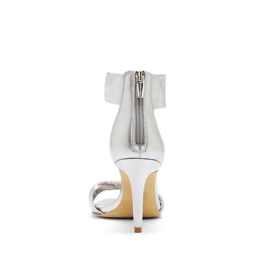 Vince Camuto Camden Twisted Straps silver Sandals
