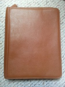 Levenger Levenger Brown Leather Bag Organizer