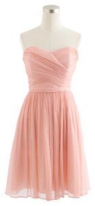 J.Crew Silk Chiffon Bridesmaid Dress