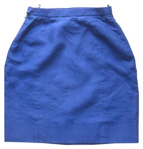 Chanel Mini Skirt Royal blue