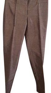 Dolce&Gabbana Silk Metallic Trouser Pants Copper brown (metallic)