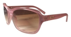Juicy Couture Women's Juicy Couture Large Pink Sunglasses