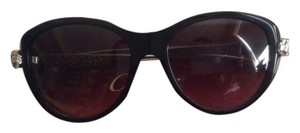 Cartier Panther Wild De Cartier Black Sunglasses