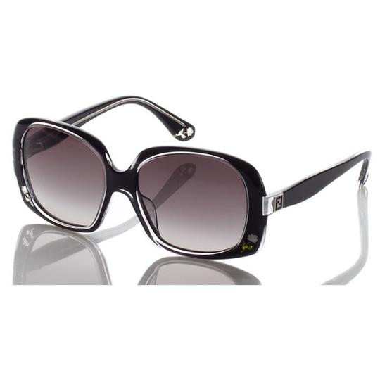 Fendi $495 NEW with case BLACK WITH ROSE INLAID