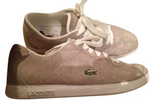 Lacoste Gray Suede Athletic