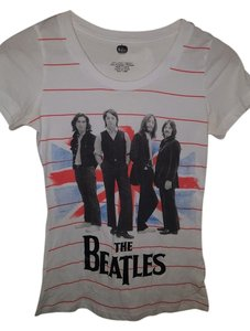The Beatles Kohls T Shirt White