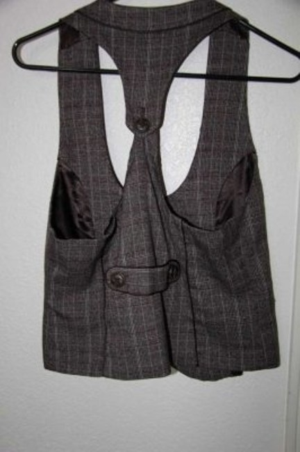 Maurices Plaid Vest