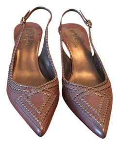 Cole Haan Slingback Brown Pumps