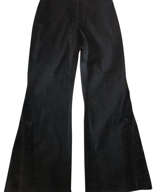 Preload https://item4.tradesy.com/images/cache-black-ruffle-hem-boot-cut-pants-size-6-s-28-14885173-0-4.jpg?width=400&height=650
