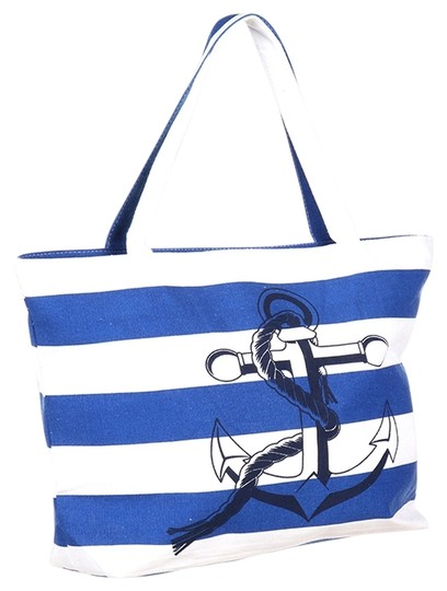 Preload https://img-static.tradesy.com/item/14885422/nautical-stripe-anchor-weekend-beach-blue-white-polyester-cotton-tote-0-1-540-540.jpg