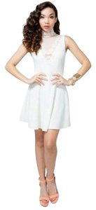 A'GACI short dress Ivory on Tradesy