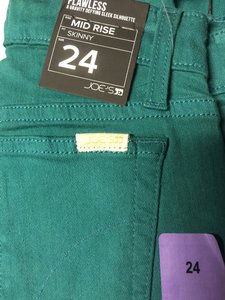 JOE'S Jeans Joes Denim Stretch Skinny Pants green Size 27