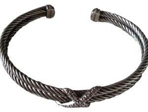 David Yurman David Yurman X Bracelet with Diamonds