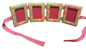 Lilly Pulitzer Fabric Picture Frames