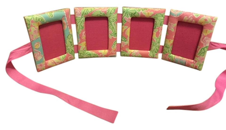 Lilly Pulitzer Multicolor Fabric Picture Frames - Tradesy