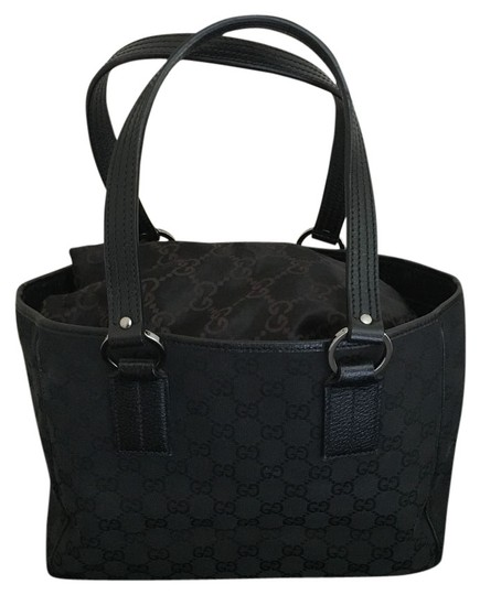 Preload https://item3.tradesy.com/images/gucci-gg-monogram-black-and-gunmetal-canvas-leather-tote-14886217-0-1.jpg?width=440&height=440