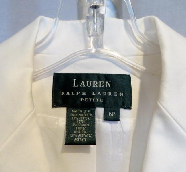 Ralph Lauren Petite New With Tags White Blazer