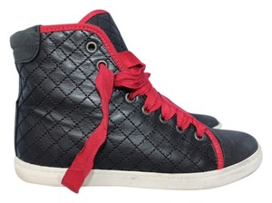 Lanvin Quilted Leather Luxury Black Athletic