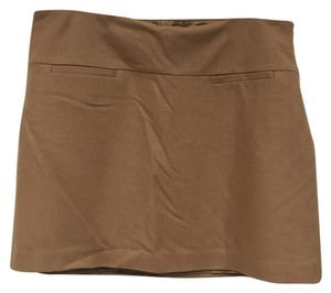 Gap Mini Skirt Tan, Brown