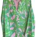 Lilly Pulitzer Pink Zebra & Butterfly Tunic Size 6 (S) Lilly Pulitzer Pink Zebra & Butterfly Tunic Size 6 (S) Image 1