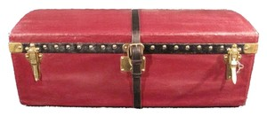 Louis Vuitton Louis Vuitton Maroon Vuittonite Cabin Trunk