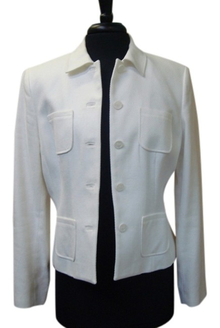 Preload https://item4.tradesy.com/images/ann-taylor-white-cotton-spring-jacket-size-10-m-14886883-0-1.jpg?width=400&height=650