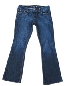 American Eagle Outfitters Boot Cut Jeans-Medium Wash