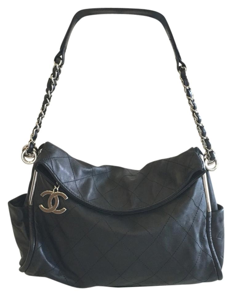 4a52a0e0940af3 Chanel Quilted Ultimate Soft Black Hobo Bag - Tradesy