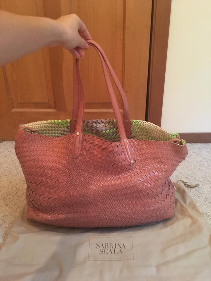 Sabrina Scala Tote In Pink 123456