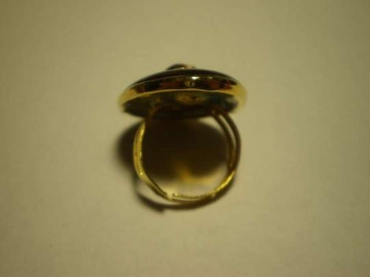 Other New adjustable tiger eye ring