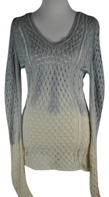 Preload https://img-static.tradesy.com/item/14887948/mulricolor-cashmere-two-tone-ivory-and-gray-sweaterpullover-size-12-l-0-1-650-650.jpg