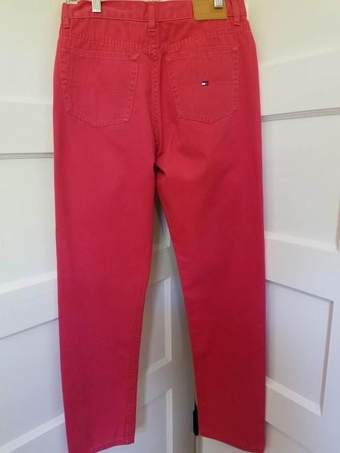 Tommy Hilfiger Boot Cut Pants Red