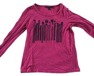 Marc by Marc Jacobs T Shirt Magenta