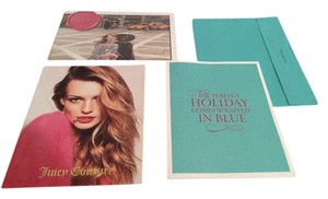 Tiffany & Co. Tiffany and Juicy Couture Collectors Books Tiffany Holiday Collection