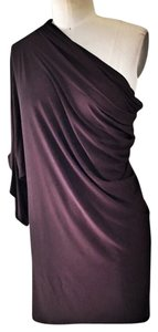 Riller & Fount short dress Eggplant Summer Drape Sexy Kimono Asymmetric on Tradesy