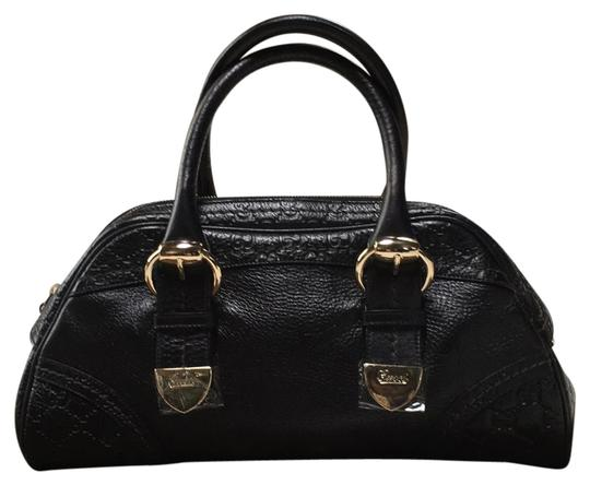 Preload https://item2.tradesy.com/images/gucci-black-geniune-leather-with-logo-throughout-different-areas-of-bag-satchel-14888626-0-1.jpg?width=440&height=440