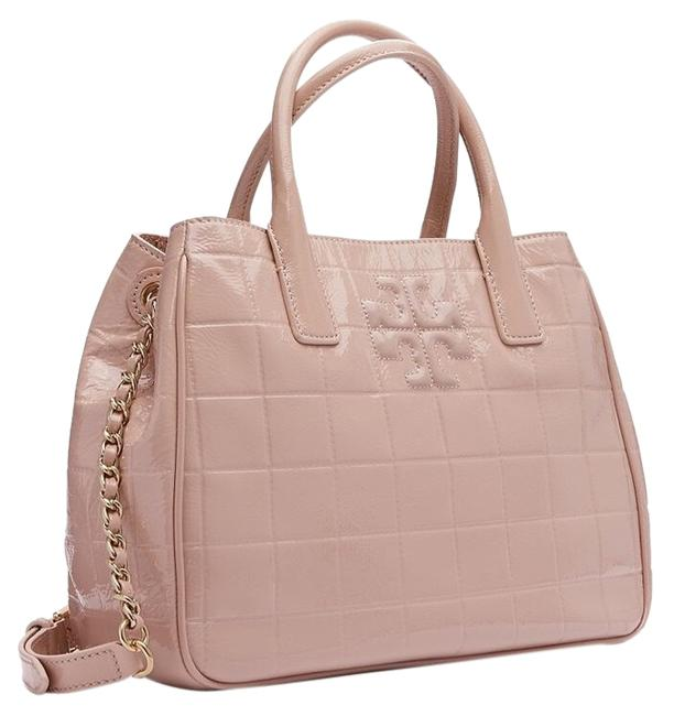 Item - Marion Quilted Oak Pink Patent Leather Tote