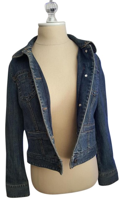 Preload https://img-static.tradesy.com/item/14888854/ann-taylor-loft-blue-denim-jacket-size-petite-4-s-0-2-650-650.jpg