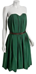 Chloe Strapless Sweetheart Holiday Made In France Dress
