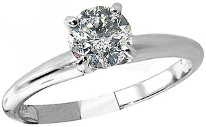 ABC Jewelry Brilliant Cut Diamond Solitaire Ring