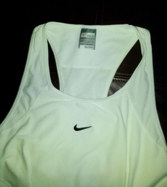 Nike White Nike FitDry Tennis Dress