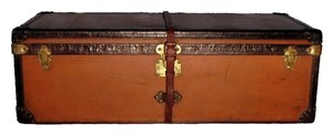 Louis Vuitton Louis Vuitton Vuittonite Cabin Trunk C.1900